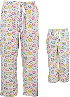 Unique Baby Donut Print Family Match Mommy Daddy Me Pajama Pants