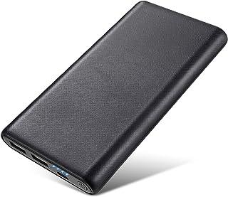 モバイルバッテリー 大容量 26800mAh 【2020最新版】 2USB出力ポート LED残量表示 PSE認証済 薄型 携帯充電器 スマホ/タブレット/ゲーム機など対応 バッテリー