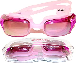 swim goggles for adults Horacx, Horizon Swimming Goggles NoLeaking AntiFog UV Protect Adult