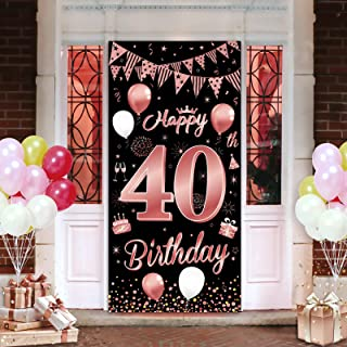 1981 Birthday Poster Chalkboard Facts Decor 40th Birthday Party Decorations PRINTABLE Sign Fortieth 40th Birthday Gift for Women Men