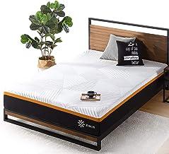 Zinus Single Mattress 3 Zone Hybrid 25cm Cool Adaptive Fabric Copper Memory Foam Pocket Spring - Medium Firm