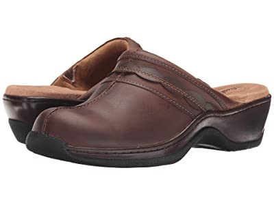 SoftWalk Abby (Dark Brown Oily Leather) Women