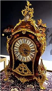 RELOJESDECO Reloj de sobremesa reproducción Luis XV en Oro 14kl ...