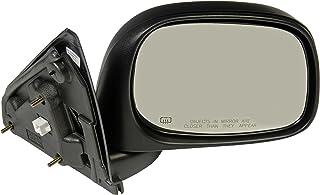 Dorman 955-1376 Passenger Side Power Door Mirror - Heated / Folding for Select Dodge Models, Black