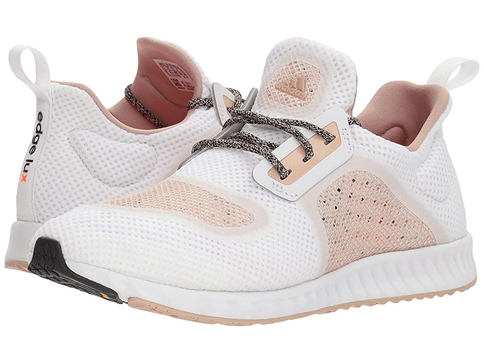 adidas Running Edge Lux Clima (Footwear White/Ash Pearl/Ash Pearl) Women's Running Shoes