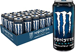 Absolutely Zero, Low Calorie Energy Drink, 16 Ounce (Pack of 24)