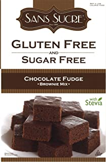 Sans Sucre Gluten Free and Sugar Free Chocolate Fudge Brownie Mix, 16 Ounce