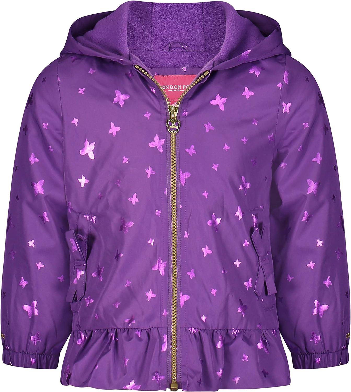 LONDON FOG Sales for sale Girls' Over item handling ☆ Midweight Lined Jacket Fleece