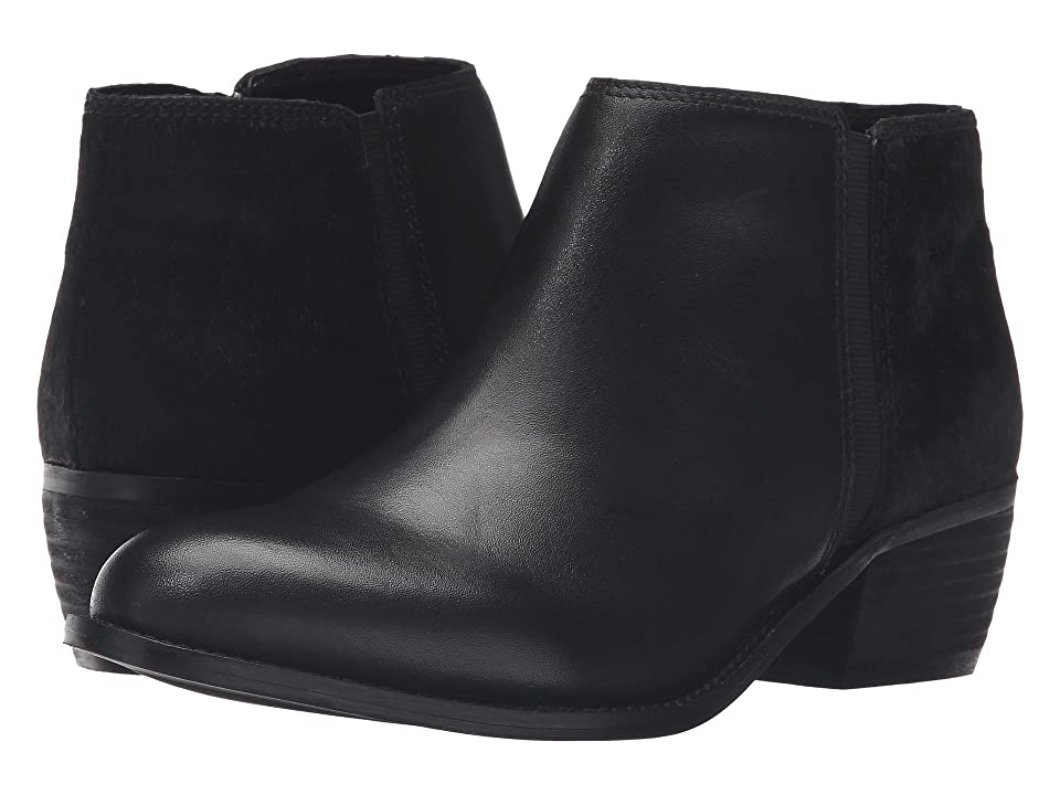 Dune London Penelope (Black Leather/Pony) Women