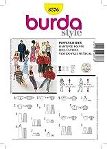 Blanc 19 x 14 x 0,5 cm Papier Burda B6477 Patron 6477 Blouse