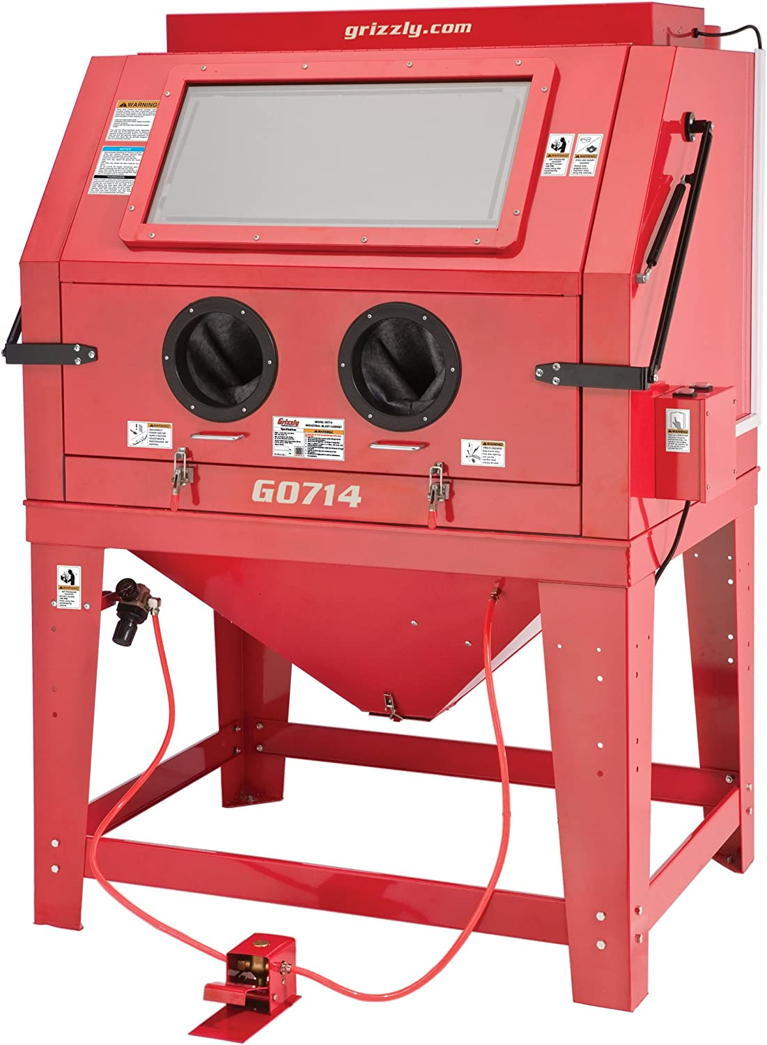 Grizzly G0714 Industrial Blast Cabinet