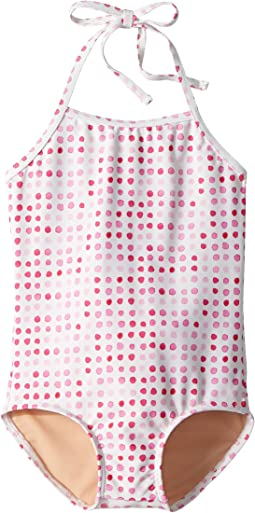Pink Dot One-Piece Swimsuit (Infant/Toddler/Little Kids/Big Kids)