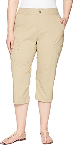 Columbia - Plus Size Silver Ridge Stretch Capris II