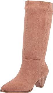 حذاء نسائي FUKKO متوسط الساق من Lucky Brand، لاتيه، 6