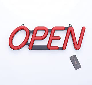 premier pos open sign