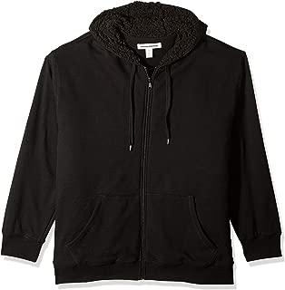 Men's Big & Tall Sherpa Lined Full-Zip Hooded Fleece Sweatshirt fit by DXL