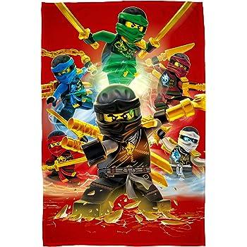 Couverture Polaire/LEGO Ninjago Movie /« Jungle /» avec Un Motif imprim/é Grand Format