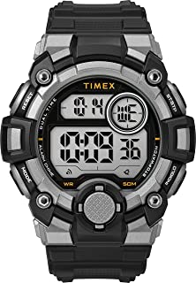Timex Mens Quartz Watch, Digital Display And Resin Strap - TW5M27700