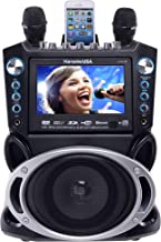 "Karaoke USA GF840 DVD/CDG/MP3G Karaoke Machine with 7"" TFT Color Screen with Record.."