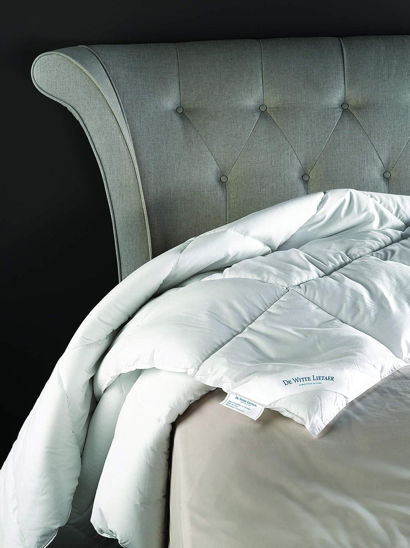 100/% percal de algod/ón Color Blanco 240 x 220 cm Blanco De Witte Lietaer 191669/Dream edred/ón de algod/ón percal