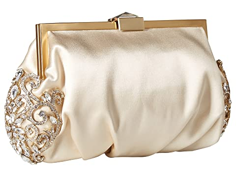 Badgley Mischka Ivory Mischka Gab Clutch Badgley zvvqRWOB