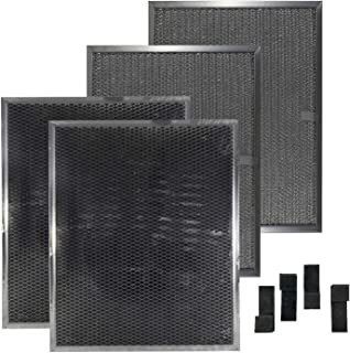Air Filter Factory Compatible Replacement For 4 Filter Kit BPS1FA30 BPSF30 99010308 with 99527587 Clips