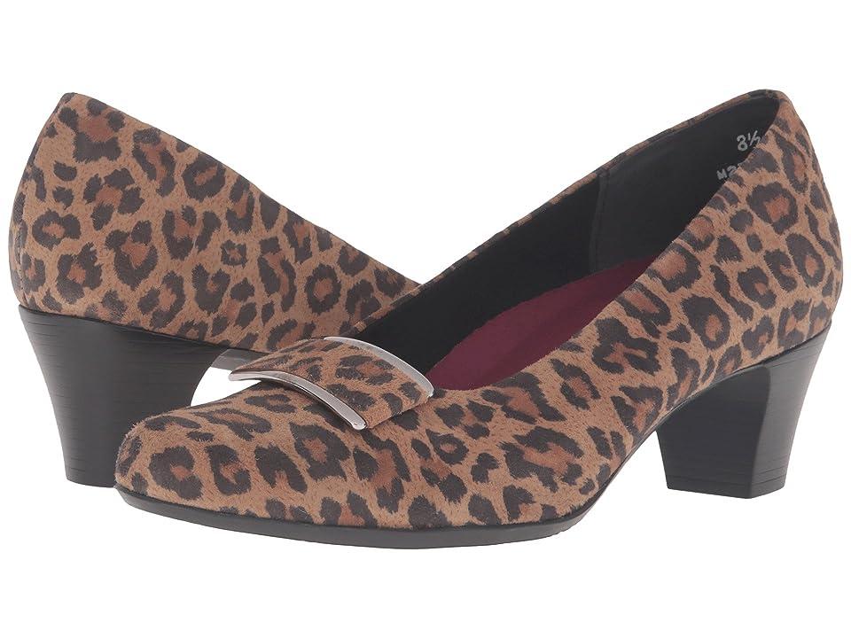 Munro Mara (Leopard/Leopard Trim) High Heels