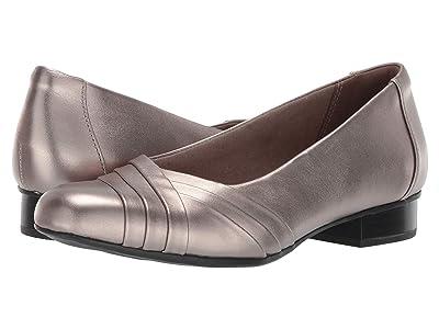 Clarks Juliet Petra (Pewter Leather) Women