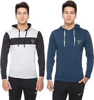 b08f5839125 Long Sleeve Men's T-Shirts: Buy Long Sleeve Men's T-Shirts online at ...