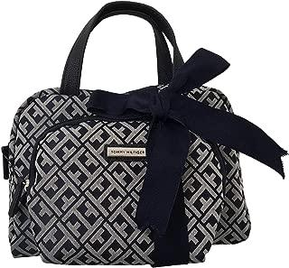 Tommy Hilfiger 2 Piece Cosmetic Bag Set Case Makeup Bag Navy Blue