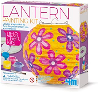 4M 404767 Little Craft Lantern Painting Kit, Multi Colour