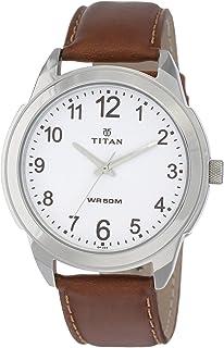 Titan Autumn-Winter 19 Analog White Dial Men's Watch NM1585SL07/NN1585SL07