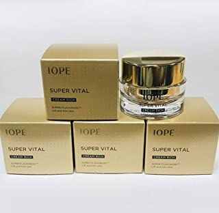 IOPE Super Vital Cream RICH 70ml (14ml x 5ea), New Super Flavonoid, Samples for trial