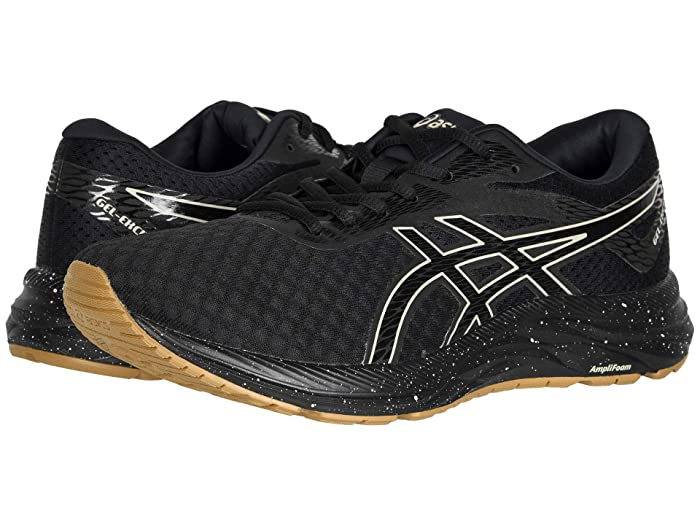 ASICS  GEL-Excite 6 (Black/Putty) Mens Running Shoes