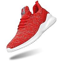 Deals on Flysocks Mens Mesh Slip On Sneakers