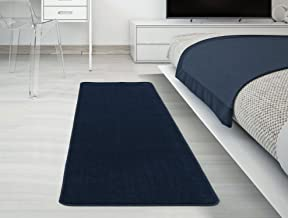 "Silk Road Concepts Bath Rug, 20"" x 59"", Navy Blue"
