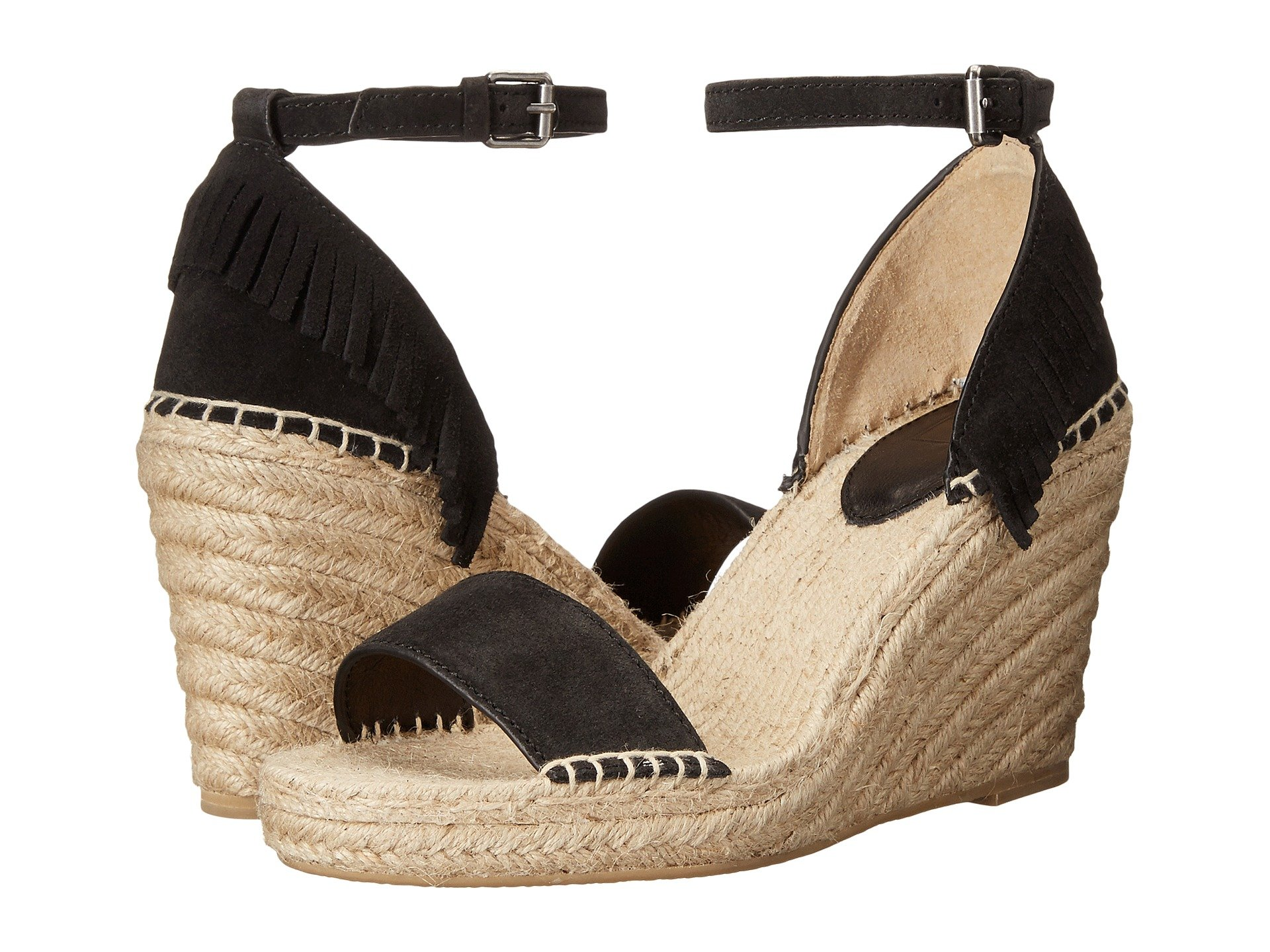 Lila Feather Wedge