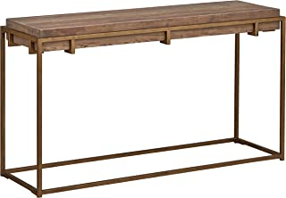Stone & Beam Sparrow Industrial Entry Console Table, 55.1