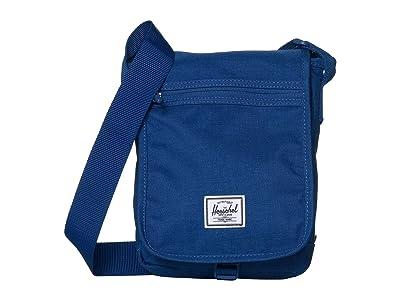Herschel Supply Co. Lane Small (Monaco Blue Crosshatch) Messenger Bags