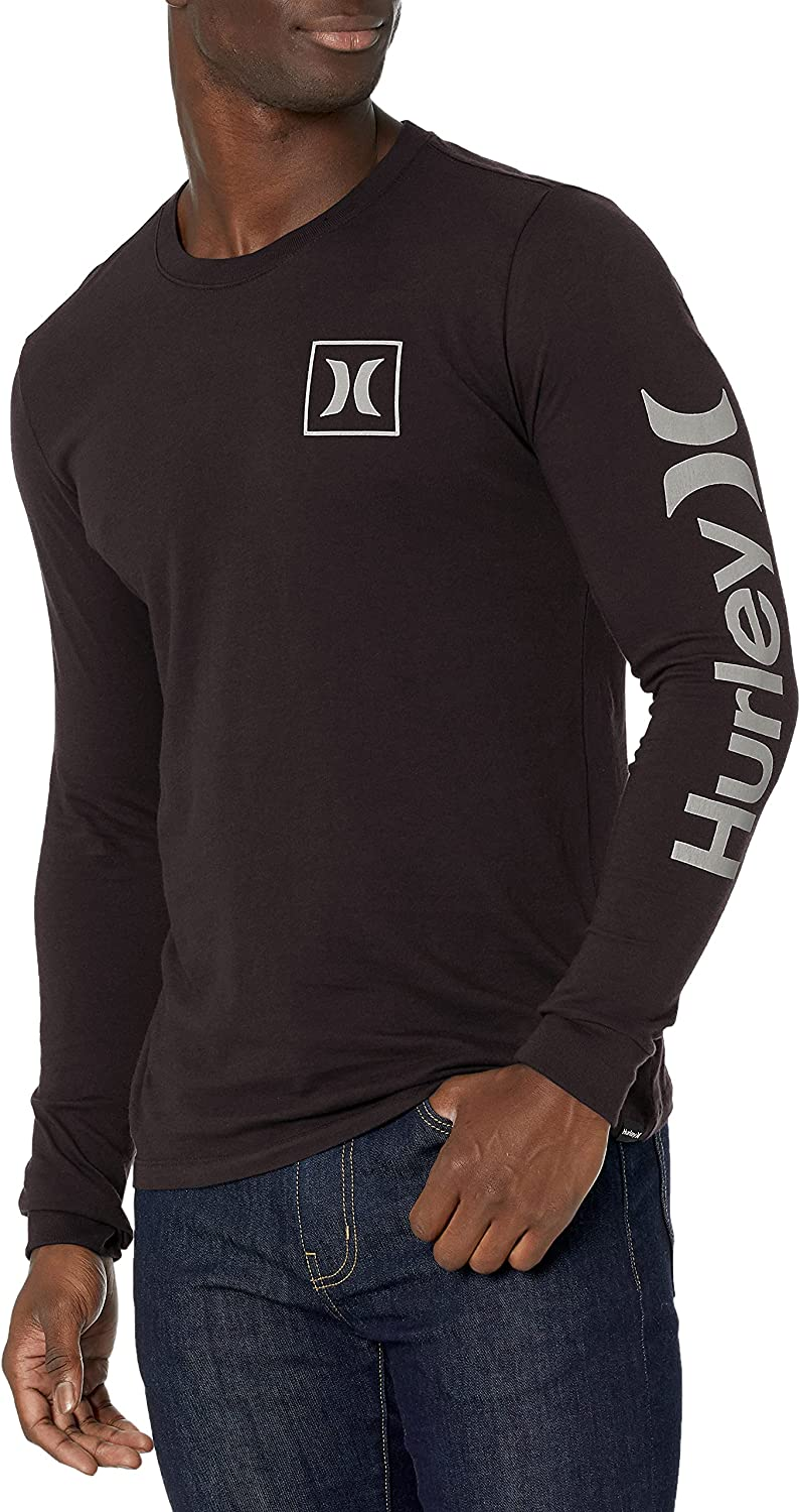 Hurley Men's Everyday Washed Brand new Long T-Shirt Sleeve Cheap mail order specialty store