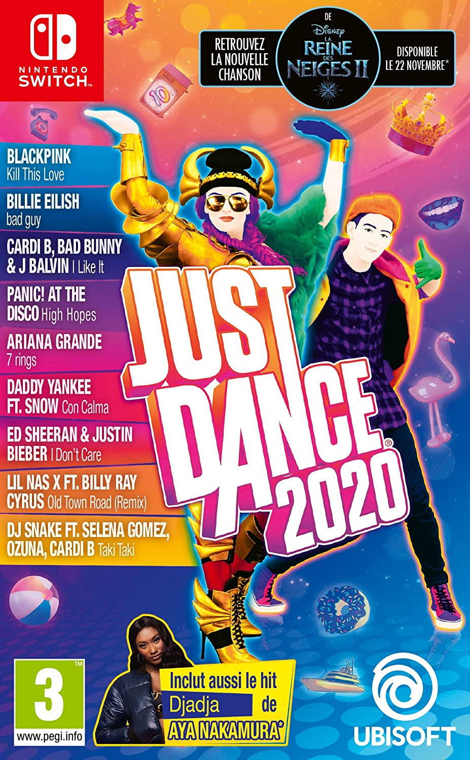 Ubisoft Discount sold out mail order E2:E3JUST Dance 2020 Switch Game -