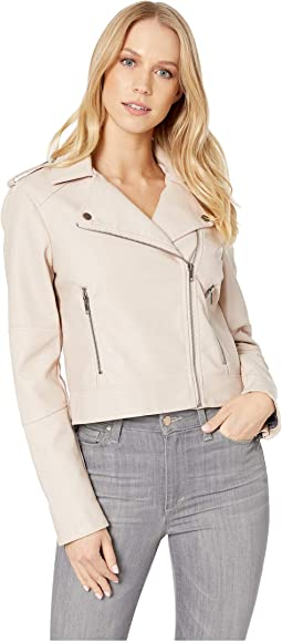 Bellandonna Washed Vegan Leather Jacket