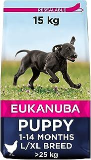 comprar comparacion Eukanuba Alimento seco para cachorros de razas grandes con pollo 15 kg