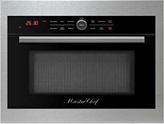 brown double ovens built in