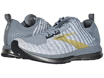 Brooks Bedlam 2 (Grey/White/Gold) Men