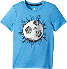 adidas Kids - Sports Graphic Tee (Toddler/Little Kids)