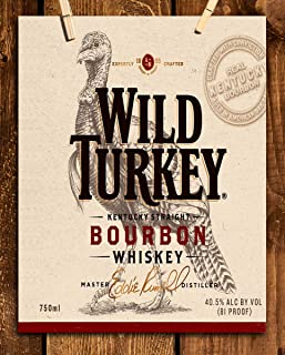 wild turkey label