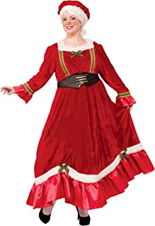 Forum Novelties Women's Plus Size Mrs. Santa Claus Costume