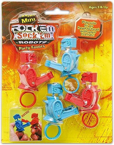 Rock Em Sock Em Mini Games 4ct
