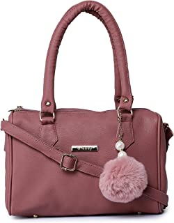 GLOSSY Sling Bag For Girls with Double Handle